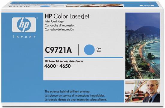Картридж HP Europe C9721A (C9721A)