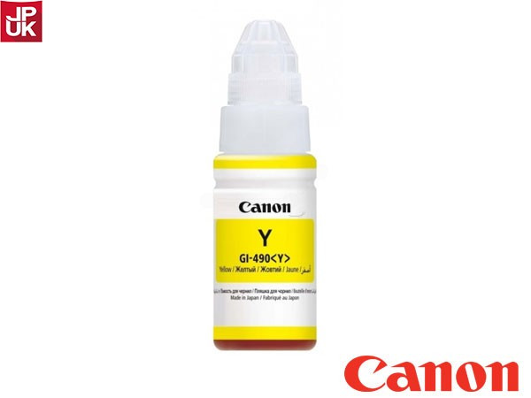 Чернила Canon INK GI-490 Y (0666C001)
