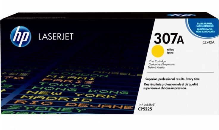 Картридж HP Europe CE742AH (CE742AH)