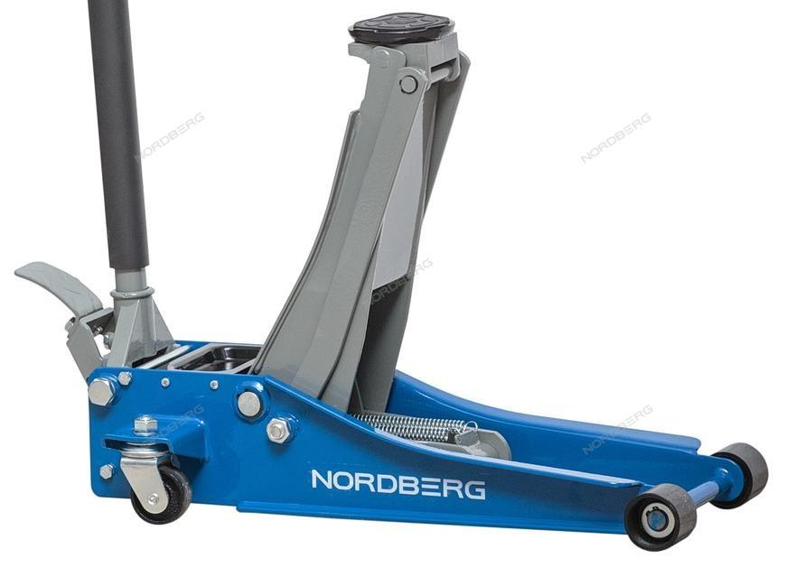 NORDBERG ДОМКРАТ N32032 супернизкий подкатной 3 тонн, H=75-500 мм