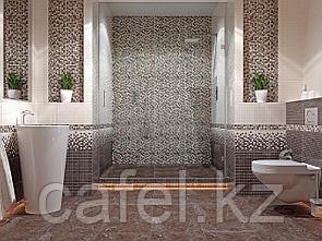 Кафель | Плитка настенная 28х40 Кармен | Carmen коричневый рельеф