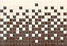 Кафель   Плитка настенная 28х40 Кармен   Carmen коричневый рельеф, фото 4