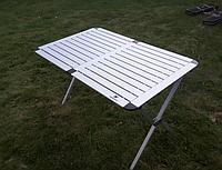 Стол алюминиевый в чехле 140*70*70