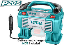 Аккумуляторный авто компрессор TOTAL арт.TACLI2002