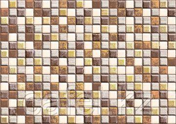 Кафель | Плитка настенная 28х40 Кармен | Carmen декор  D