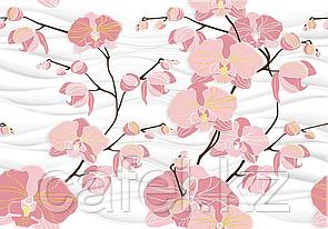 Кафель   Плитка настенная 28х40 Орхидея   Orhideya вставка D2