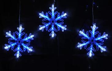 Гирлянда новогодняя Снежинки