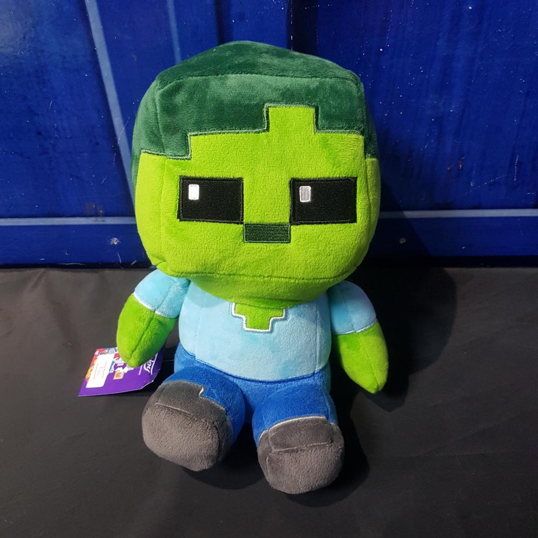 Плюшевая игрушка Зомби - Майнкрафт