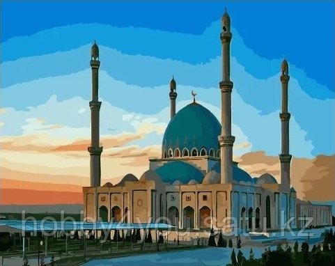 """Картина по номерам  """"Мечеть на рассвете"""" 40х50 см"""