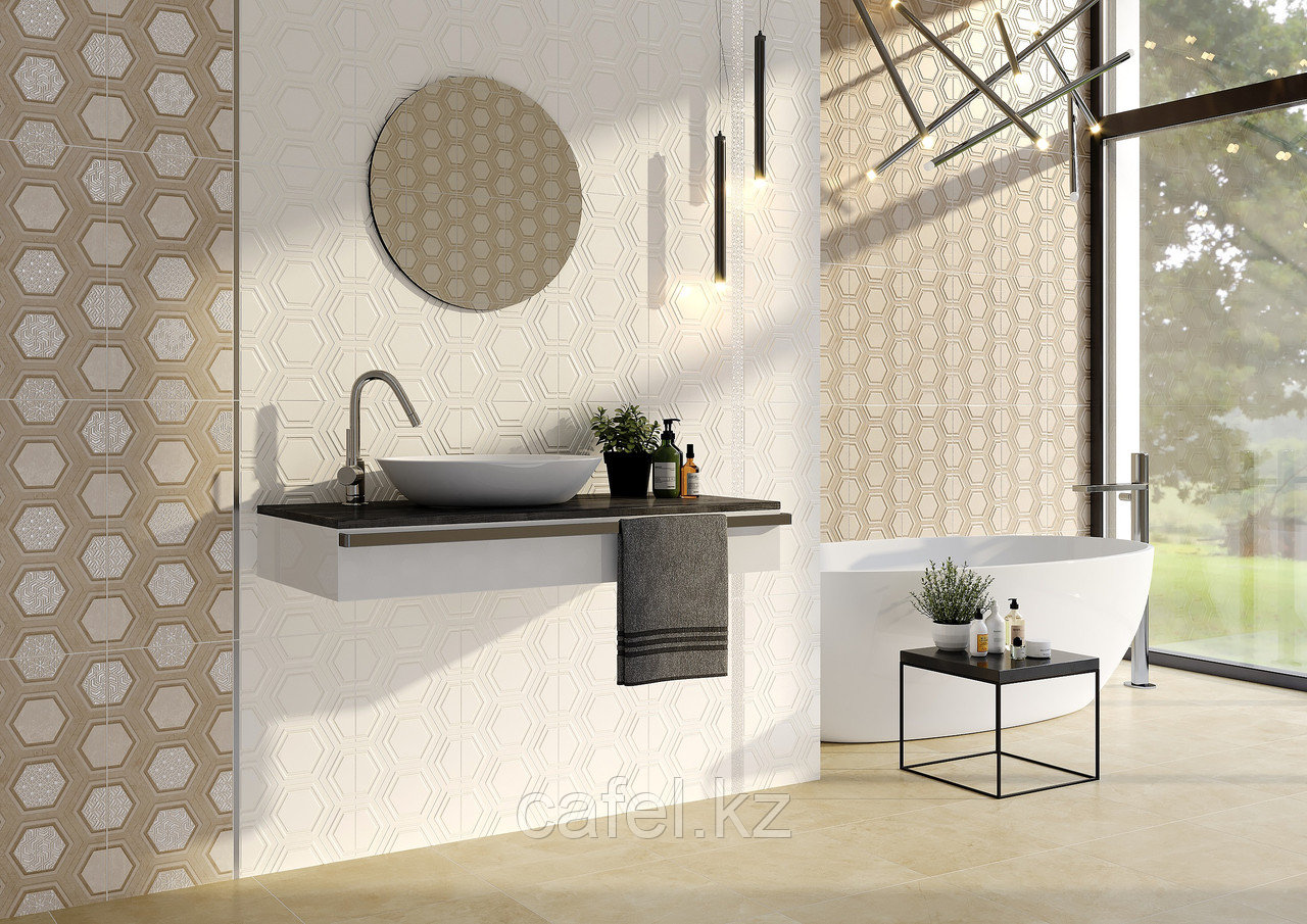 Кафель | Плитка настенная 25х50 Роно | Rona