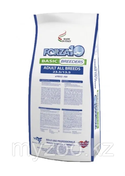 Forza10 Basic Breed All Breed Pesce (23.5/13.5) 1 кг   на вес   Форца10 корм для взрослых собак всех пород рыб
