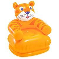 Кресло надувное детское «Весёлая зверушка» INTEX 68556 (Тигренок)