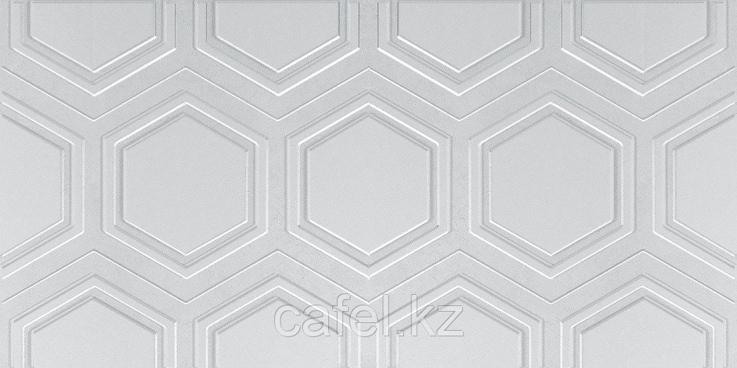 Кафель   Плитка настенная 25х50 Роно   Rona светло-серый