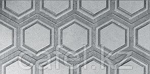 Кафель | Плитка настенная 25х50 Роно | Rona серый