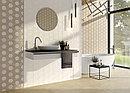 Кафель | Плитка настенная 25х50 Рона | Rona вставка серый, фото 2