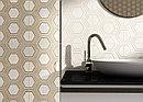 Кафель | Плитка настенная 25х50 Рона | Rona вставка серый, фото 3