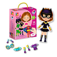 Игра-одевашка магнитная «Супер Girl» Vladi Toys