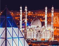 "Картина по номерам ""Мечеть Хазрет Султан, г. Нур-Султан"" 40х50 см"