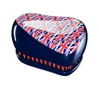 Расческа для волос с рисунком Tangle Teezer Compact Styler (Британский флаг)
