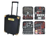 Большой набор инструментов из 735 предметов в чемодане SWISS TOOLS ST-1073