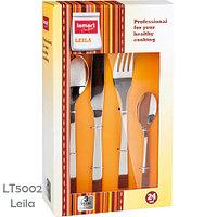 Набор столовых приборов из нержавеющей стали LAMART by Piere Lamart (LT5002 Leila (24 пр))