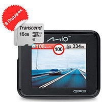 Видеорегистратор с GPS-приемником Mio MiVue C330 NEW {+подарок microSD 16 Gb}