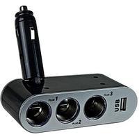 """Тройник автомобильной розетки """"прикуривателя"""" с USB Autolader"""