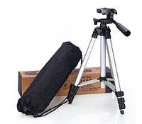 Штатив в сумке-переноске для камеры и телефона TRIPOD 3110 со встроенным уровнем и 3D-головкой