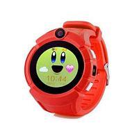 Умные детские часы-телефон с камерой «Smart Baby Watch» Q610 c GPS-приемником (Красный)