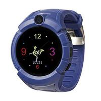 Умные детские часы-телефон с камерой «Smart Baby Watch» Q610 c GPS-приемником (Синий)