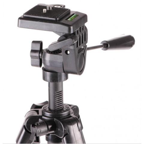 Штатив-трипод с телескопической осью для смартфона, GoPro и фотоаппарата до 3кг Tripod 330A с чехлом - фото 2