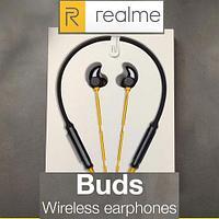 Наушники беспроводные Realme Buds Wireless EP52 {12 часов работы, система авто-стоп}