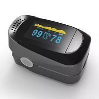 Пульсоксиметр с цветным OLED-дисплеем на палец Unaan для измерения пульса, сатурации и индекса перфузии крови