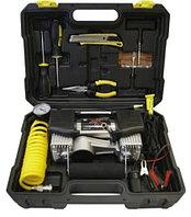 Компрессор двухпоршневой с набором инструмента в чемодане SEIKO H-85