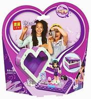 Конструктор LARI Friends в шкатулке-сердечко для девочек (Celina)