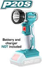 Аккумуляторный фонарик TOTAL арт.TWLI2001