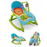 """Шезлонг - кресло - качалка """"Deluxe 2в1"""" Fisher price, фото 1"""