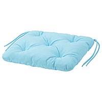 Подушка на стул КУДДАРНА голубой, 50x50 см ИКЕА, IKEA