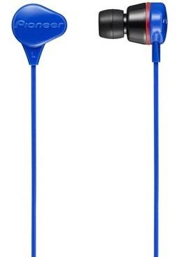Наушники-вкладыши проводные Pioneer SE-CL331-L синий