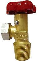 Вентиль баллона для сниженных углеводородных газов ВБ-2 ГОСТ 21804-94