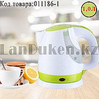 Электрический чайник с функцией авто отключения SDH-203 зеленого цвета
