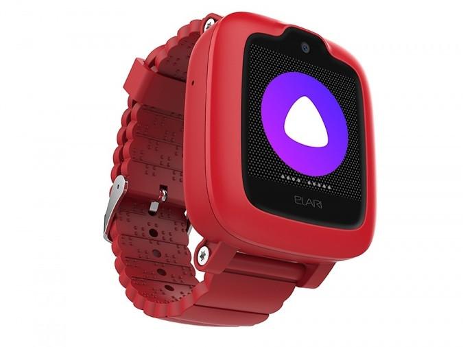 Смарт часы Elari KIDPHONE 3G с Алисой красный