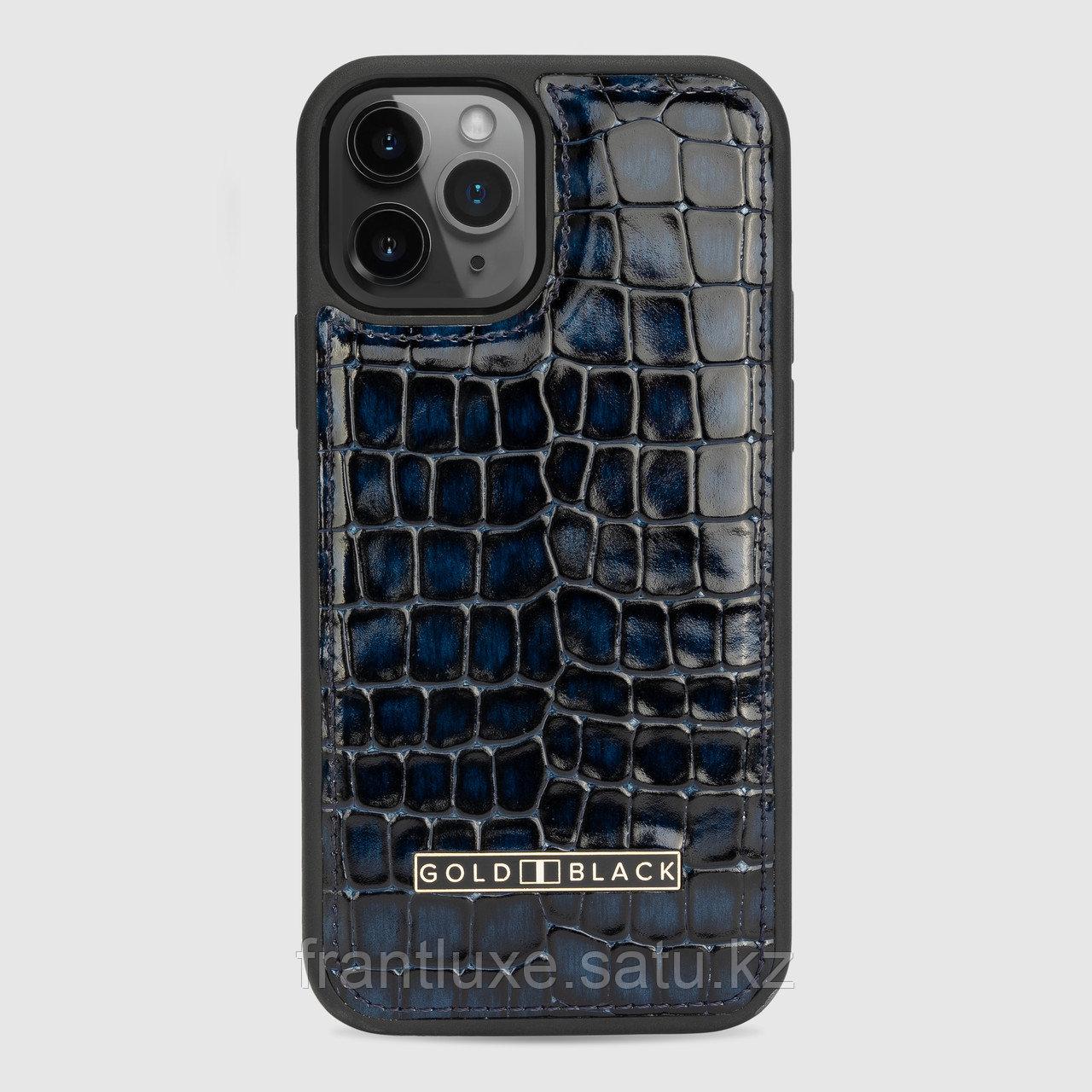 Чехол для телефона iPhone 12/12 Pro синий - фото 1