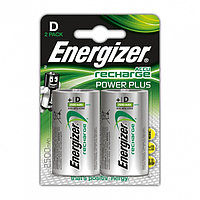 Аккумуляторы Energizer NiMH Power Plus NH 50 2500 mAh (D) 2 штуки в блистере.