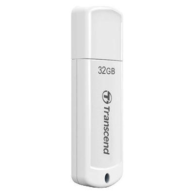 USB Флеш 32GB 2.0 Transcend TS32GJF370 белый