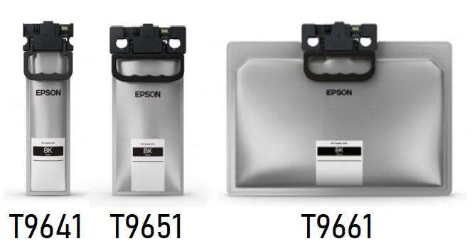 Картридж Epson C13T965140 WF-M52xx/57xx Series Ink Cartridge XL Bl.