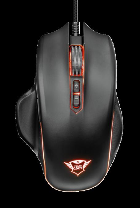 Мышь игровая Trust GXT168 Haze Illuminated RGB черная