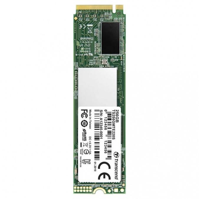 Жесткий диск SSD 256GB Transcend TS256GMTE220S M2