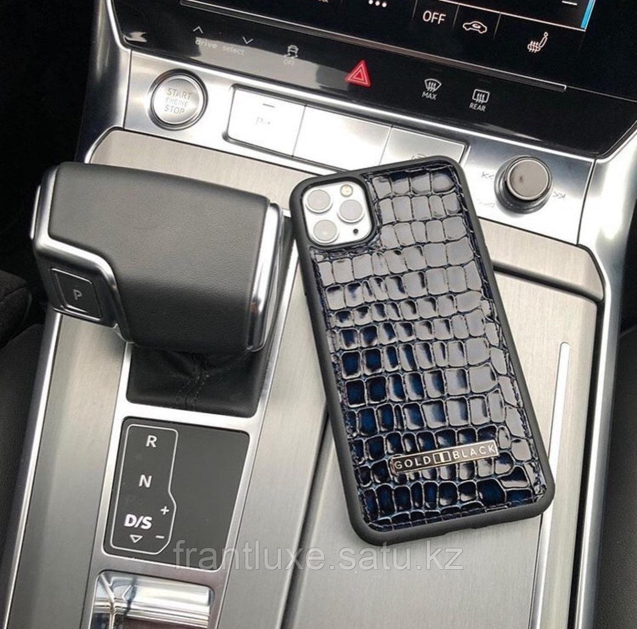 Чехол для телефона iPhone 12/12 Pro синий - фото 7