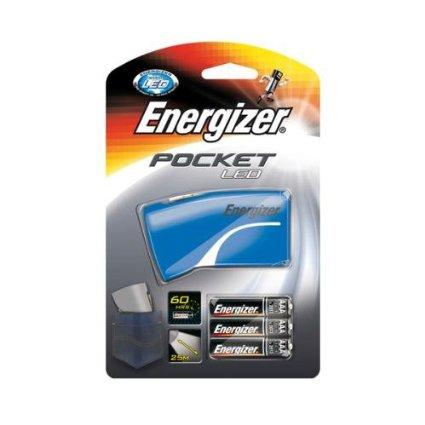 Фонарь компактный Energizer  Pocket  3x AAA синий / красный